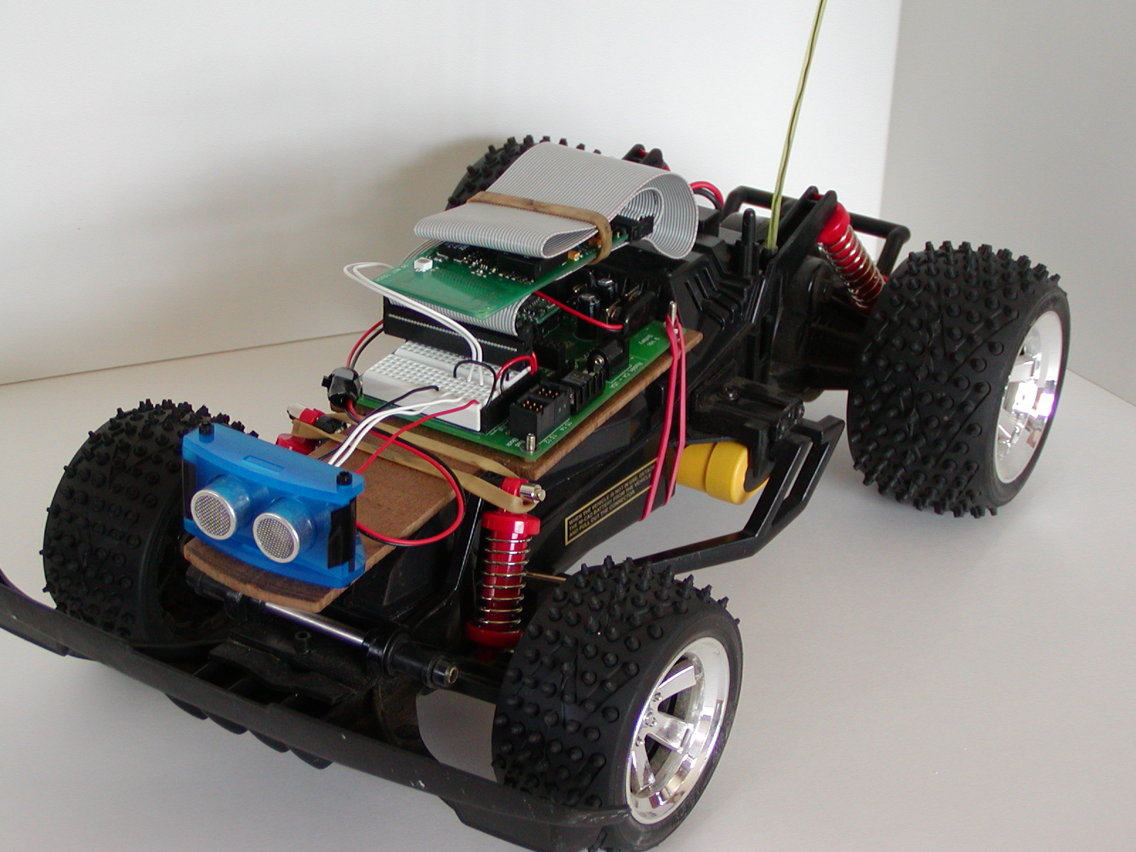 Computer controlled R/C Car Project